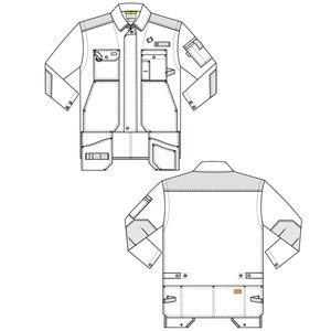 Куртка мужская рабочая 450Т SWW 14
